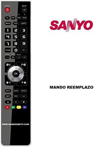 Mando TV SANYO CE32LD6BKC: Amazon.es: Electrónica