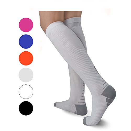 - ULTPEAK Compression Socks Women Men - Graduated Compression Stockings For Nursing, Athletic Sports, Running, Medical, Travel, Pregnancy, Shin Splints