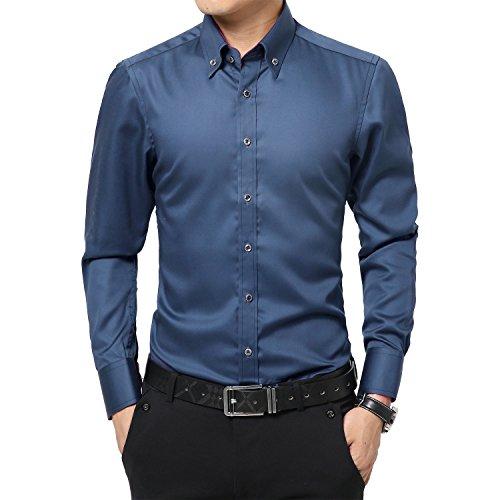DeLamode Men's Silk Bright Cover Evening Dress 100% Merce...