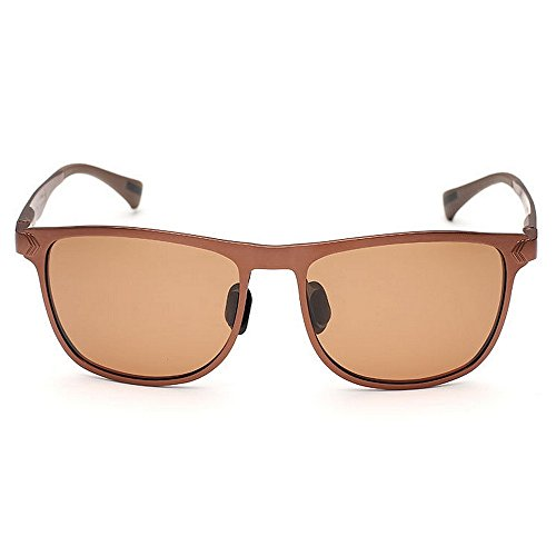 Mens Hot Metal Frame Yxsd para Hombres Brown Sunglasses Driving Fashion Oro Polarized Color RdnUCq5w