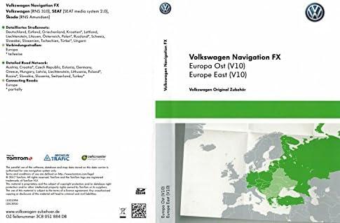 VW RNS 310 Navi Update tarjeta SD V10 Europa Oriental: Amazon.es ...