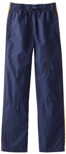 Boys Pants Wes Willy And (Wes & Willy Big Boys' Side Stripe Athletic Pant, Patriot Navy, Medium)