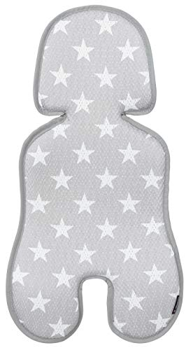 Manito Clean Infant Carseat 3D Mesh Seat Pad/Cushion/Liner (Star -