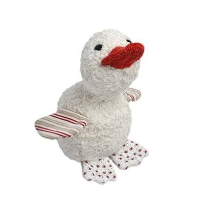 Efie Patito de peluche cultivo ecológico 100% relleno de lana virgen y fabricado en Alemania