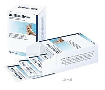 Sterillium Tejido Manos Toallitas desinfectantes 100 Unidades (10-pc x 10 Paquetes): Amazon.es: Salud y cuidado personal
