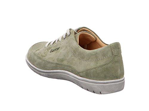 De Zapatos Oliva Ganter Cordones Gill Para Piel Mujer Verde 8wqE85r