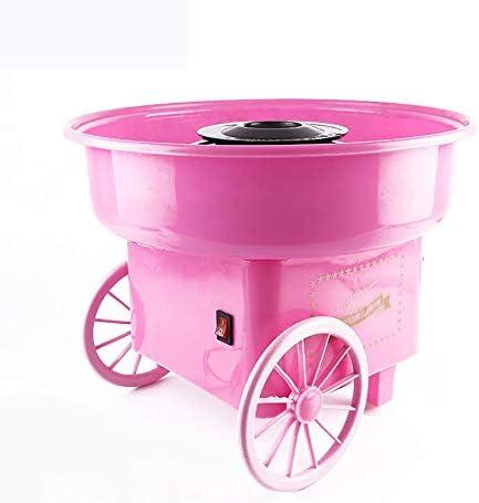 Panamami Máquina de malvavisco Retro Mini máquina portátil de algodón de azúcar para el hogar Máquina Elegante Simple de algodón de azúcar - Rosa: Amazon.es