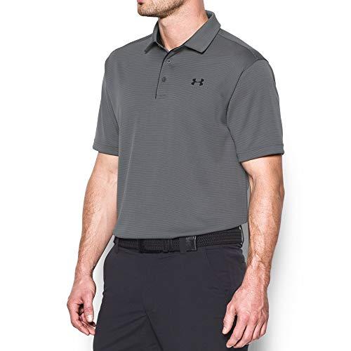 Under Armour Men's Tech Polo, Graphite (040)/Grey, Large