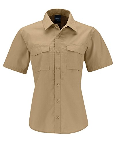 Propper Women's REVTAC Short Sleeve Shirt, Khaki, Large ()