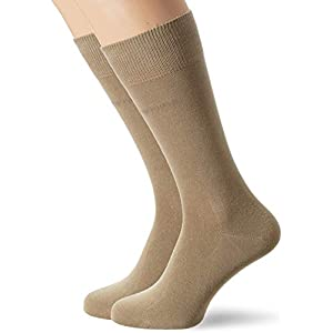 BOSS Men's Rs Uni Cc Calf Socks, (pack of 2)