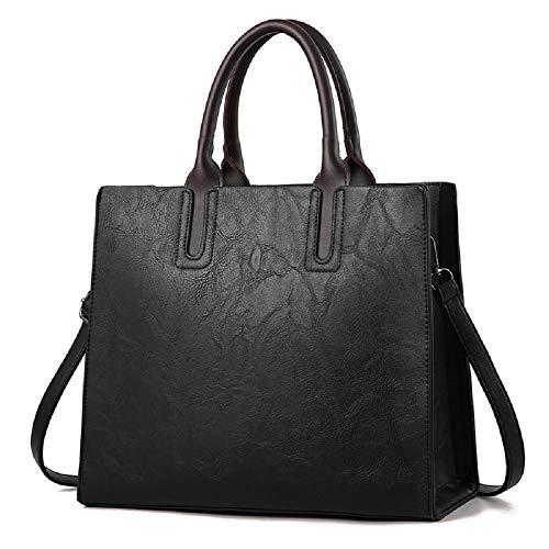 A Tote Semplice Borsa Donna Wff Tracolla Da 1 3 Donna In Capacità centimetro Bag Borsetta Pu Portatile Di Grande q7Rz0zx1Wn