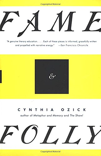 ozick essays An analysis of the short story, the shawl by cynthia ozick pages 2 words 1,527 view full essay more essays like this: analysis, cynthia ozick, the the complete.