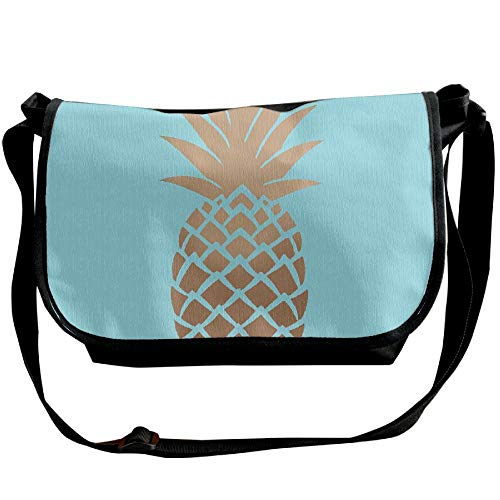 Blue Sling Bags Background Fashion Designer Bag Men's Casual Black Pineapple Bag Golden Messenger 5Yxxp