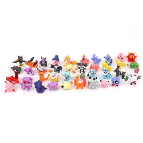 [Set of 24 Cute Lovely Pokemon Monster Mini Figure Kids Fun Toy Party For Gift LJ] (Buu Costume)