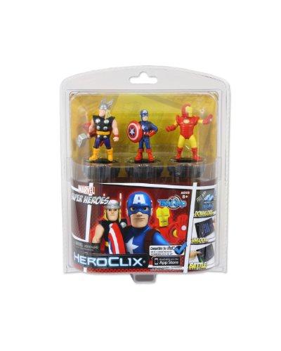 Marvel Heroes HeroClix TabApp 3 PackMarvel