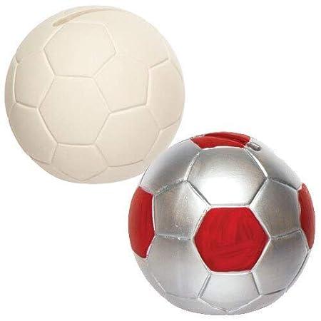 Baker Ross Huchas de cerámica en forma de balón de fútbol que los ...