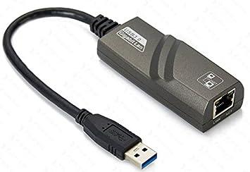 USB 3.0 RJ45 1000Mbps Gigabit Lan Internet Network Ethernet Adapter for Nintendo Switch Wii Wii U