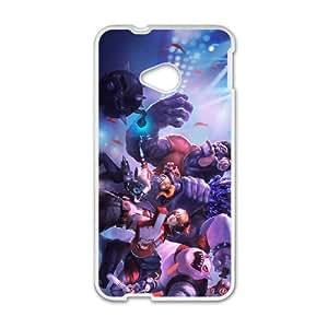 HTC One M7 Phone Case Cover White League of Legends TPA Ezreal EUA15967651 Phone Case Cover Unique Customized