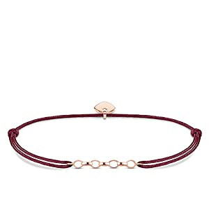 Thomas Sabo Women's 925 Sterling Silver Little Secret Charm Rose Gold Plating Bracelet