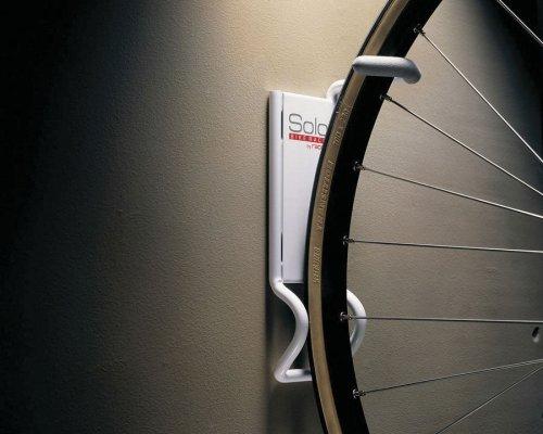 Racor B 1R Solo Vertical Bike Rack, White   Bike Storage Racks   Amazon.com