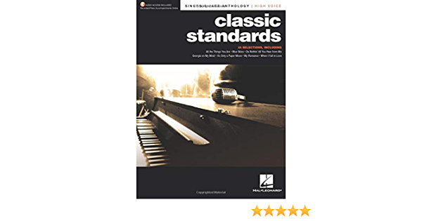 Low Voice NEW 000287130 Classic Standards Sheet Music Singer/'s Jazz Anthology