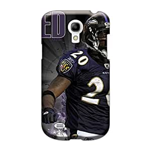 Scratch Protection Hard Cell-phone Case For Samsung Galaxy S4 Mini (BSX5407yXRR) Customized Beautiful Baltimore Ravens Skin