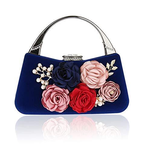 D Sacs Jours Fleur fériés de soirée B Fashion Parti Soirée soirée 7x7inch Mini de 19x18cm Main à Femme Sac Et Bal pour d'autres Pochette Présente Pqdw5wS
