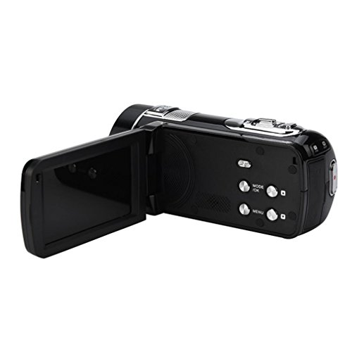 Dreamyth Infrared Night Vision Remote Control Handy Camera HD 1080P 24MP 18X Digital Zoom Video Camera DV with 3.0