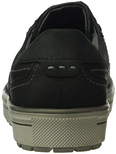 FRETZ men Spider, Sneaker Basse Uomo Nero (Schwarz (51 Noir))