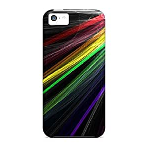 BCB19757ycEh Cases Covers, Fashionable Iphone 5c Cases - Rainbow Beams