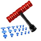 PIDINGER Auto Body Paintless Dent Removal Tools Puller Removal Repair Tool Paintless Kits Glue Puller 19Pcs Sets