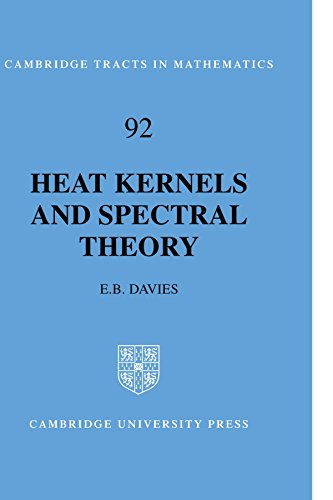 Heat Kernels and Spectral Theory (Cambridge Tracts in Mathematics)