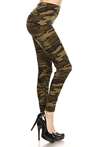 Large Product Image of Conceited Premium Ultra Soft Leggings - Printed Leggings - High Waist - Regular and Plus Size