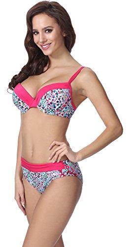 318cz Bikini Donna Motivo F21 Feba Up Push zqvqZx