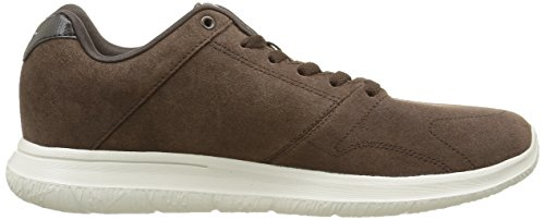Brown Walk Mens Retain City Skechers Brown Trainers Go Suede Shoes Walking wCvqaR
