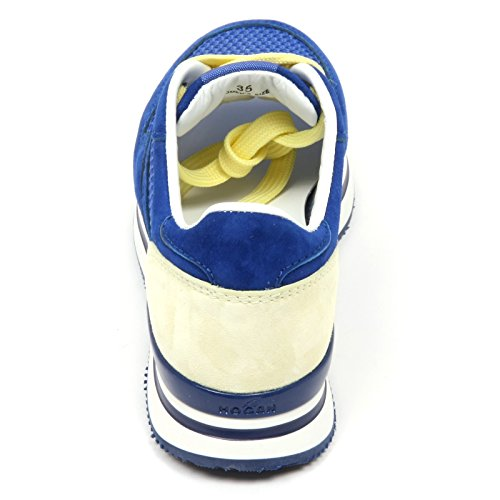 Bluette Donna Shoes Hogan Bluette C7898 H222 Sneaker Scarpa Crema Crema Woman wXn1CqEF
