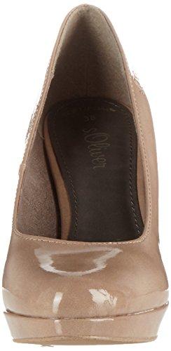 Andrea Conti Pumps schlamm - Zapatos de vestir de material sintético para mujer marrón Marron - Schlamm 37 1Fiyq0kV7d