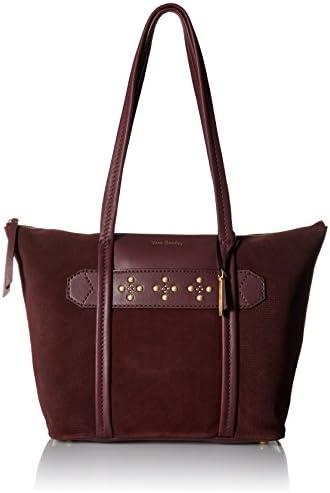 Vera Bradley Leather Mallory Tote Bag