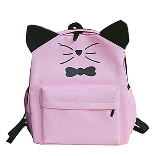 Backpack Women Canvas String Vintage Korean Cross Donalworld Bucket Col1 School Fq8dw