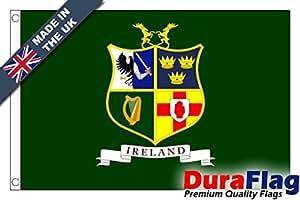 duraflag® Equipo de Hockey irlandés bandera de calidad profesional (puerta y Cambiadas)
