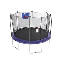 Skywalker Trampolines 12-Feet Jump N' Dunk Trampoline with Safety Enclosure and Basketball Hoop