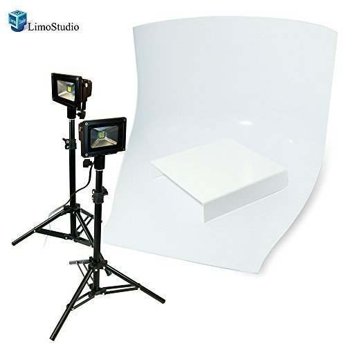 LimoStudio Table Top Photo Studio LED Lighting Kit by LimoStudio