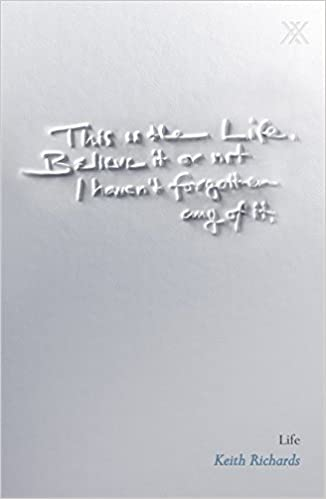 Richards life pdf keith