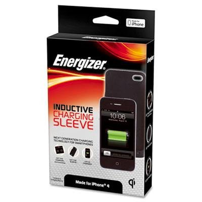 Energizer Connector - Energizer - Qi-Enabled Charger Sleeve For Iphone 4G