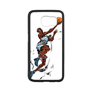 Good Quality Phone Case Designed With Basketball Sport For Samsung Galaxy S6