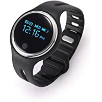 Meya Happy Fitness Tracker Watch M3 OLED Touchscreen with Live Heart Rate Band with Activity Tracker Waterproof Body with Functions Like Steps Counter, Calorie Counter, Heart Rate Monitor