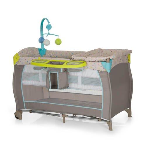 Hauck Babycenter 2017 Verde, Grigio box per bambino 4007923607589