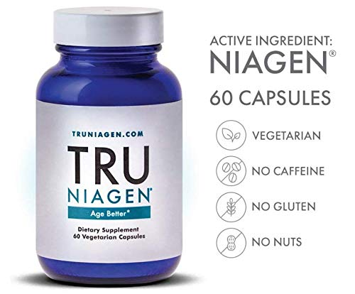 TRU NIAGEN® (Nicotinamide Riboside) | Increased 300 mg/Serving (2 Vegan Capsules) | Advanced NAD+ Booster for Next-Level Cellular Repair & Increased Energy | Vitamin B3 (NR) by TRU NIAGEN (Image #7)