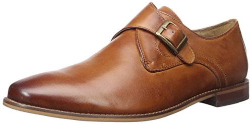 Florsheim Men's Montinaro Single Monk Dress Shoe Slip On, Saddle Tan, 11.5 D US by Florsheim
