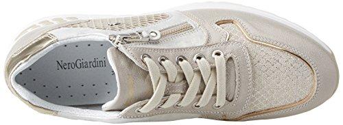 Donna Beige Sneaker Savana Stars Nero Giardini qUw86xf